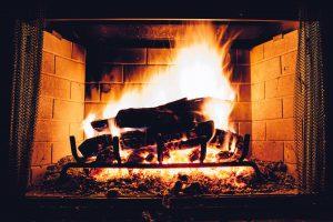 Feuer im Kamin